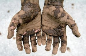 Get Your Hands Dirty !!   Everyday People
