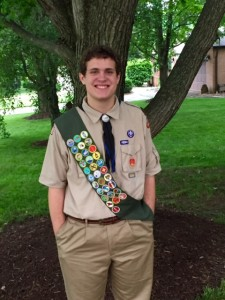 Josh as Eagle Scout